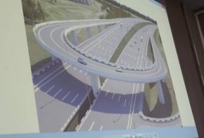 Глава Кемерова показал на фото, как будет выглядеть новая транспортная развязка на Притомском
