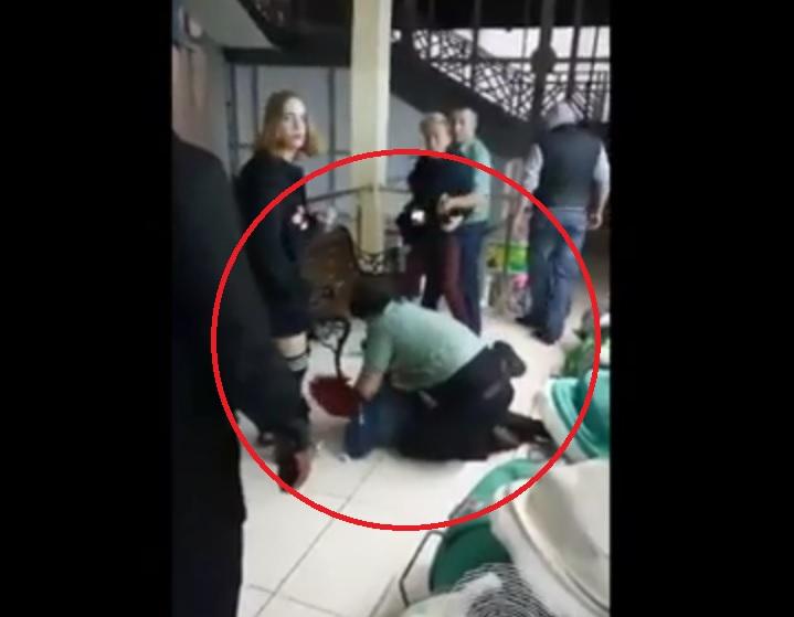 Конфликт молодых людей иохранников кемеровского ТРК «Гринвич» попал навидео