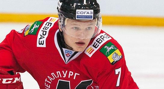 Новокузнечанин стал лучшим молодым игроком года наEuropean Hockey Awards