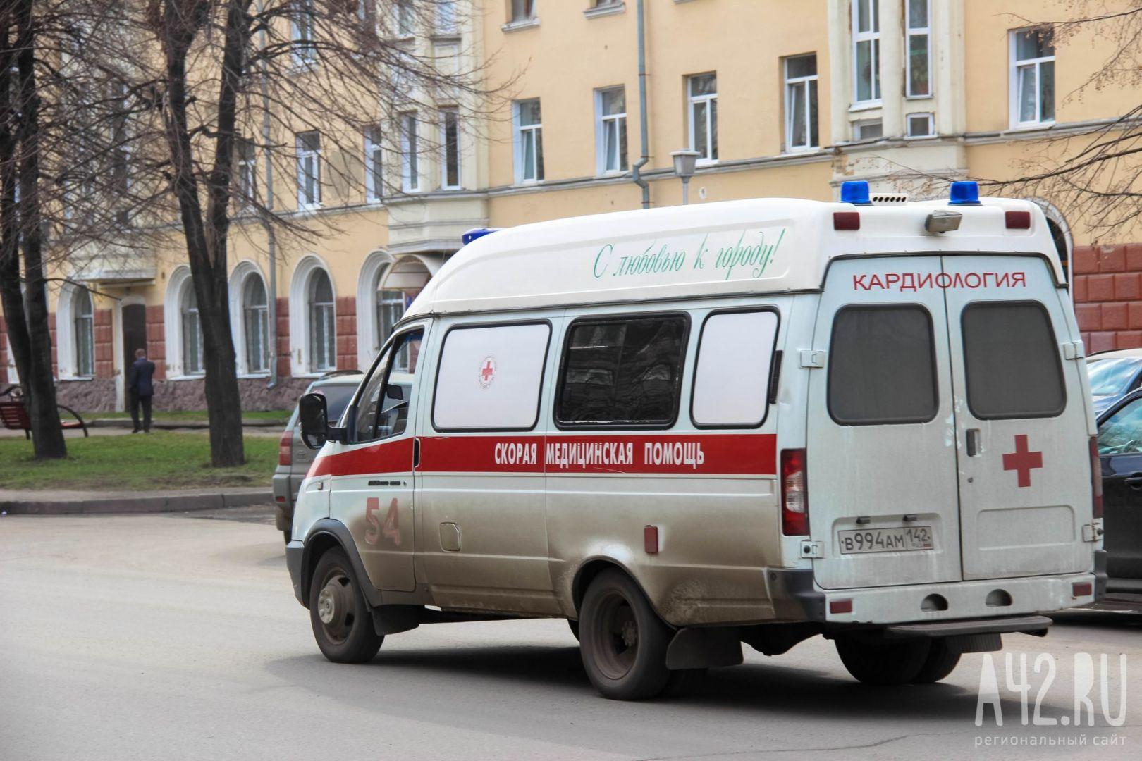 ВДТП вКемерове умер пассажир иномарки
