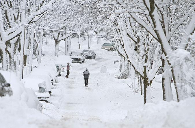 ВСША из-за морозов погибли как минимум 7 человек