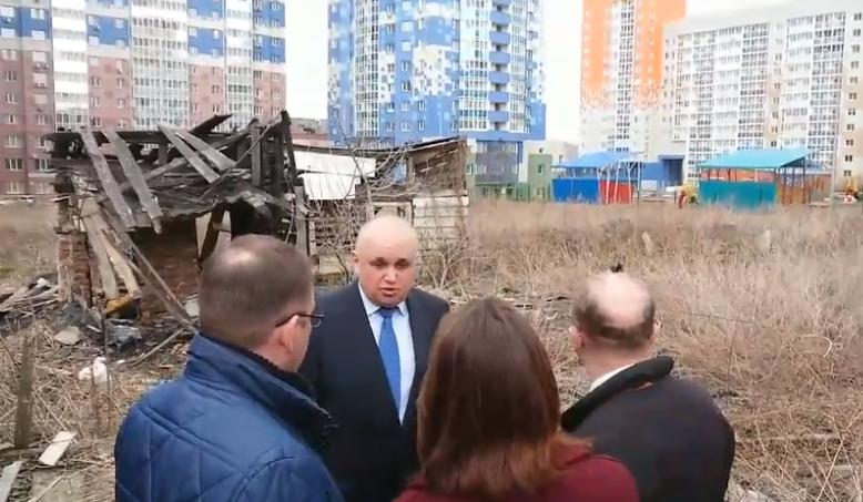 Цивилев распорядился снести трущобы на территории ЖК «Кемерово-Сити»