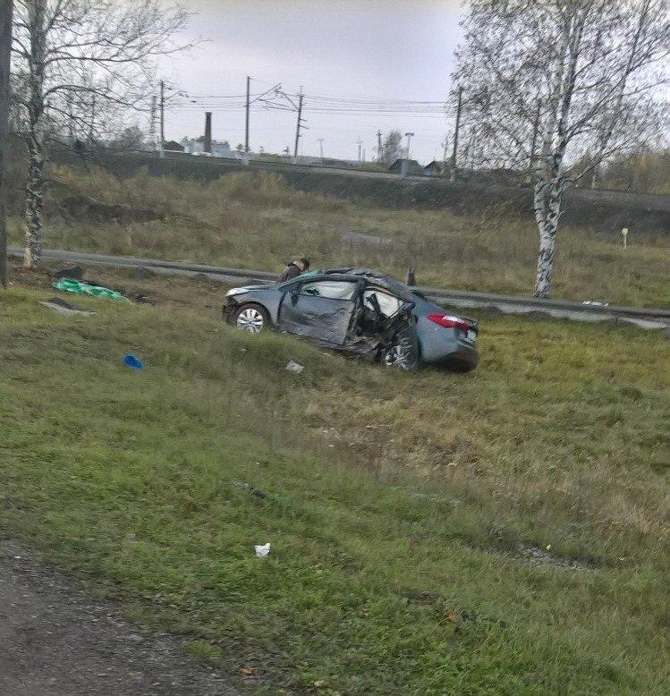 Жуткое ДТП вКемеровской области: девушка погибла из-за нетрезвого водителя
