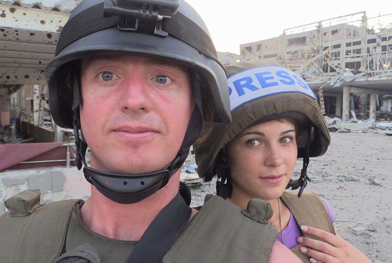 В Донецке обвенчались американский журналист и местная девушка