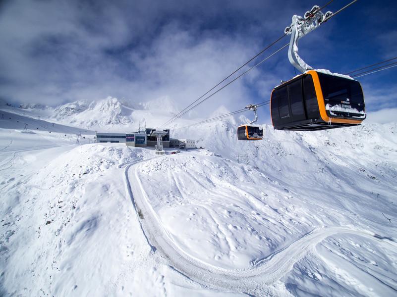 ВАльпах около 150 лыжников довелось эвакуировать сподъёмника навертолёте