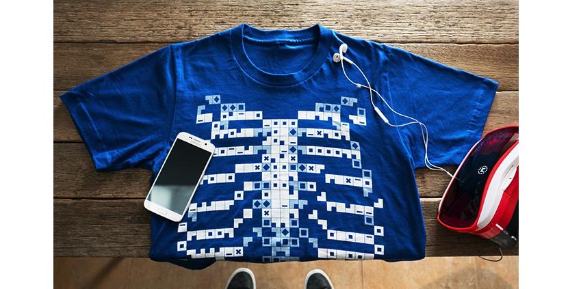 ВСоединенном Королевстве создали неповторимую футболку-рентген