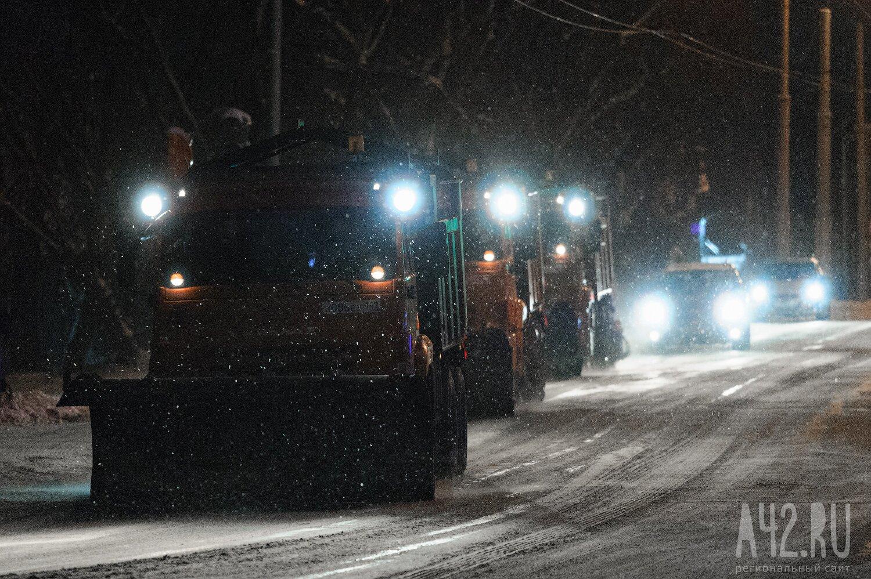 ВКузбассе заночь 22ноября выпала треть декадной нормы снега