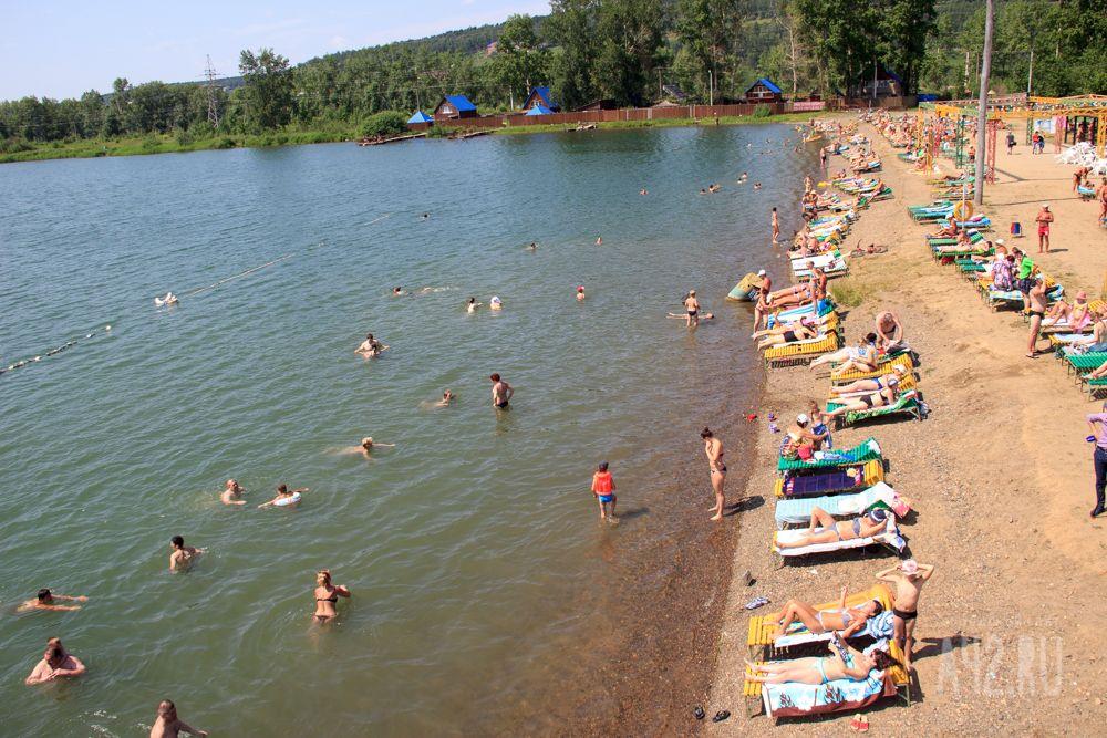 ВКузбассе начали закрывать места отдыха уводы ипляжи