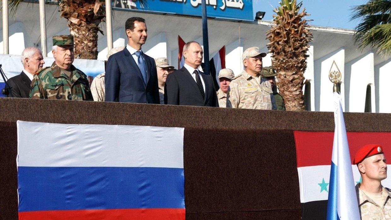 Российская Федерация небросит Дамаск нарастерзание западной коалиции