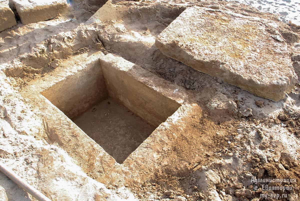 На береге вКрыму отыскали детскую могилу