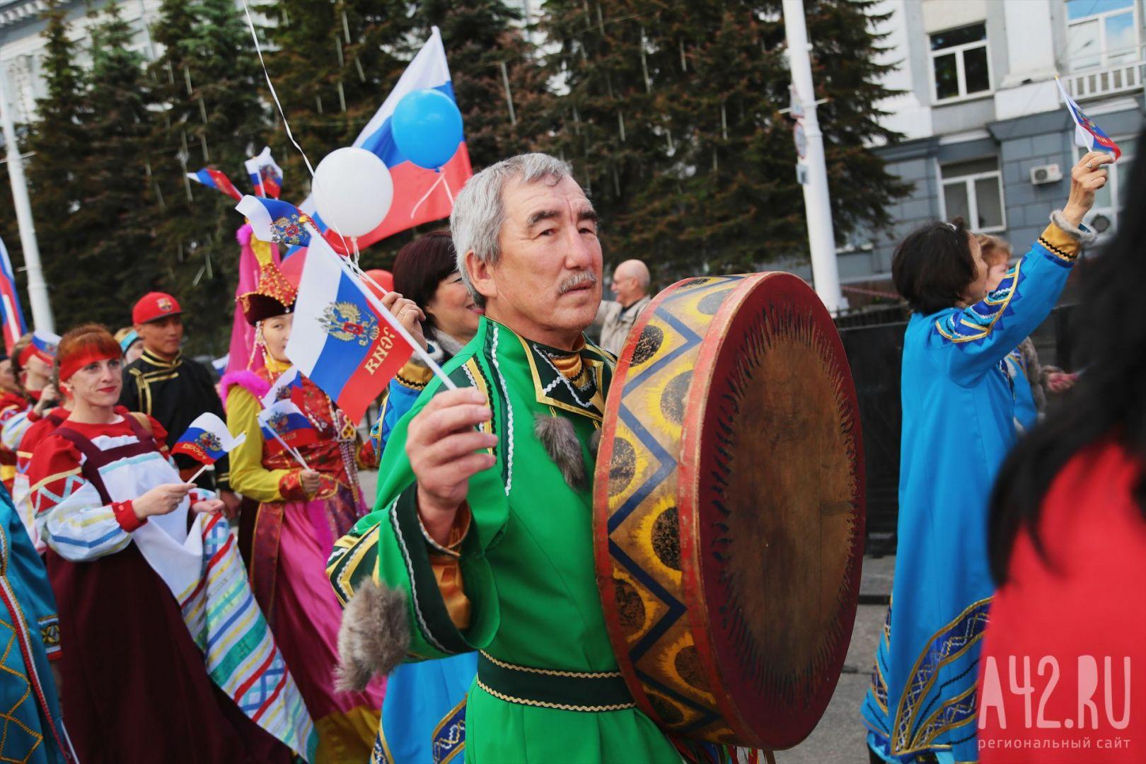 Парад дружбы народов пройдёт повсей Республике Коми