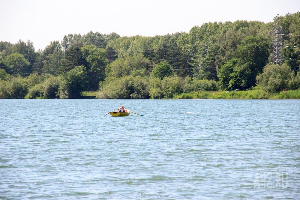 ВКемерове вКрасном озере обнаружили труп мужчины