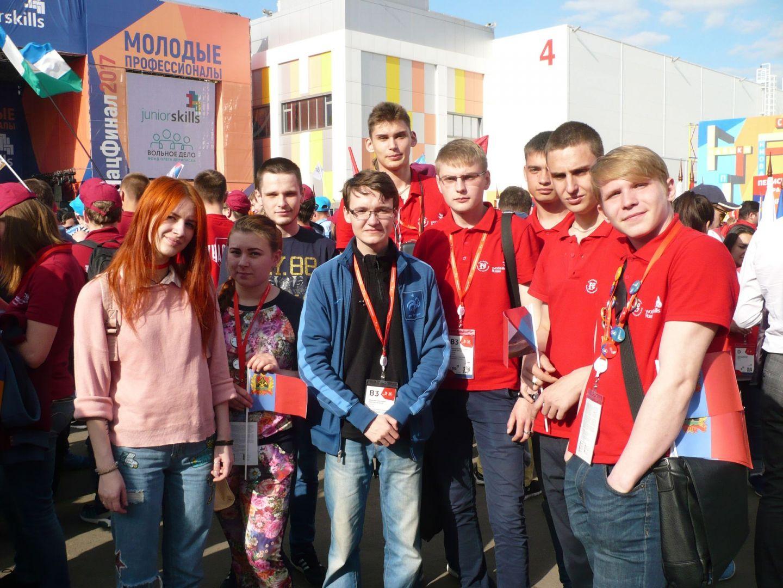 Красноярцы привезли 11 наград с государственного чемпионата WorldSkills