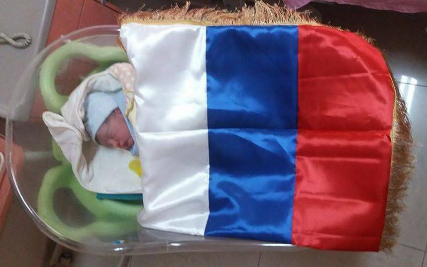 ВСирии новорожденного назвали вчесть В.Путина