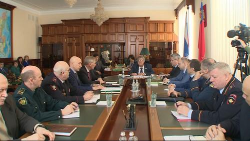 ВКемерове прошло совещание антитеррористической комиссии