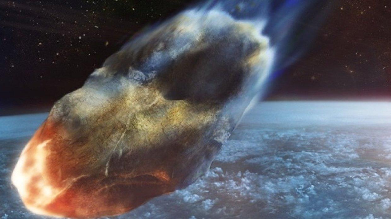 Опубликовано видео пролетевшего рекордно близко к Земле астероида