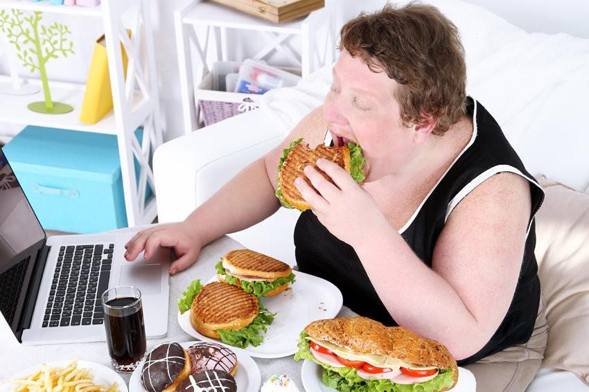 Ожирение человека фото