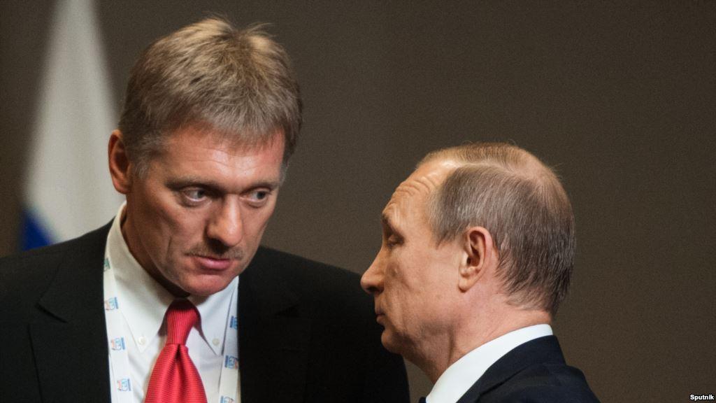 Песков: возможность ареста русских активов наносит вред стилю США