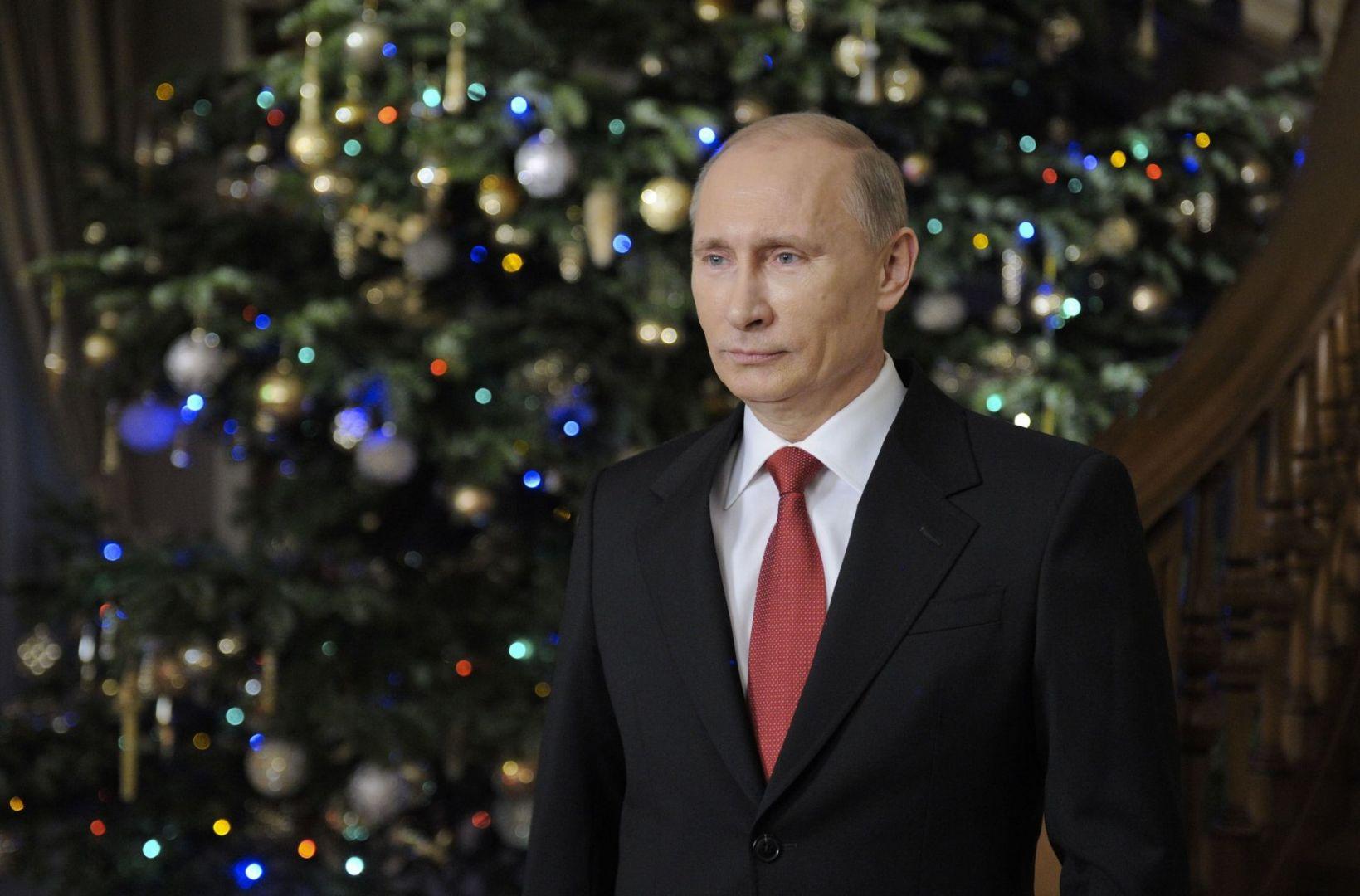 Путин встретит Новый год сродными иблизкими
