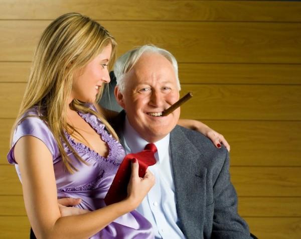 Секс старики с девочками