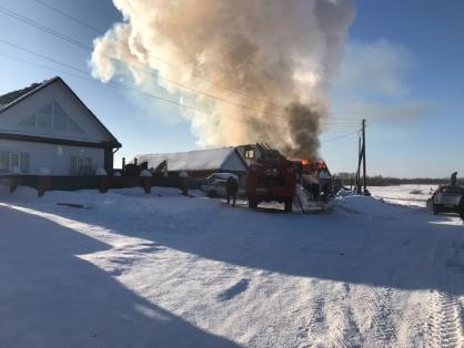 После погибели пятерых детей впожаре вОмской области объявлен траур