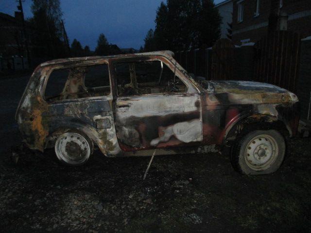 Гражданин Кузбасса сжег машину знакомого из-за долга втысячу руб.
