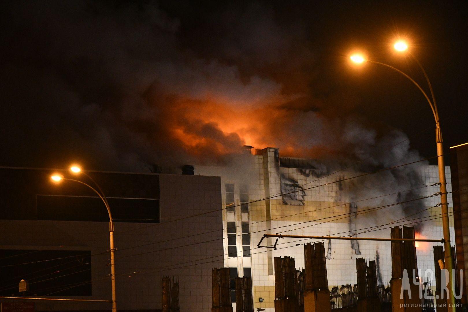 Кемеровский вице-губернатор поведал о«детской» версии пожара вТЦ