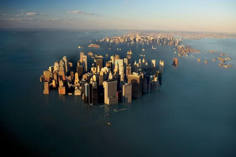 Ученые: уровень воды вокеане поднимается все быстрее