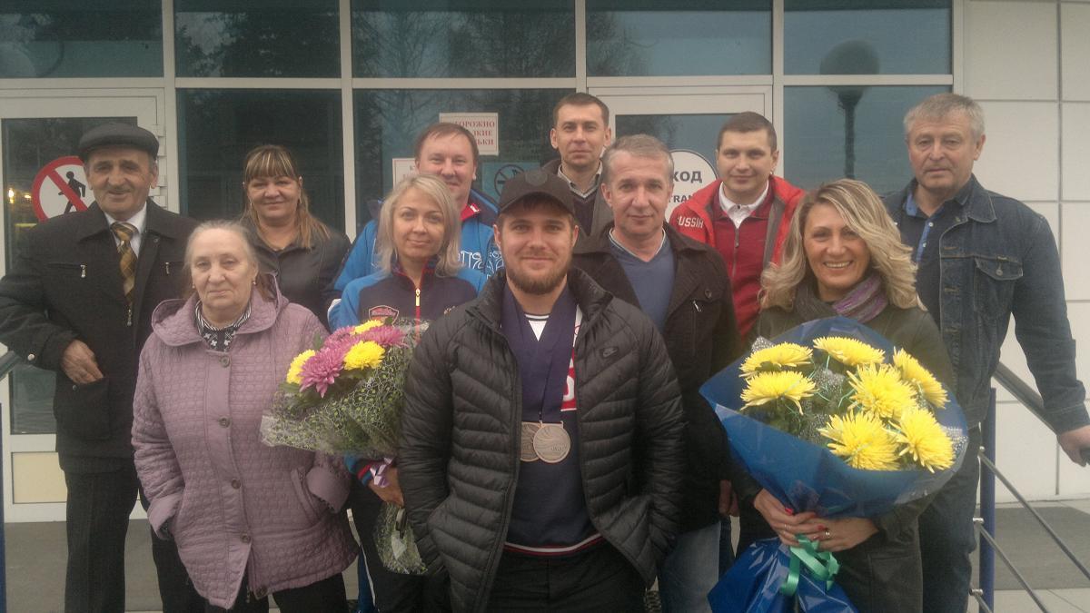 Белорусский штангист завоевал серебро намолодежномЧЕ