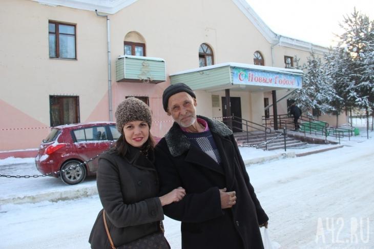 Наталья и Николай Степанович Маслов. Фото: Дарья Кельн / «Газета Кемерова»