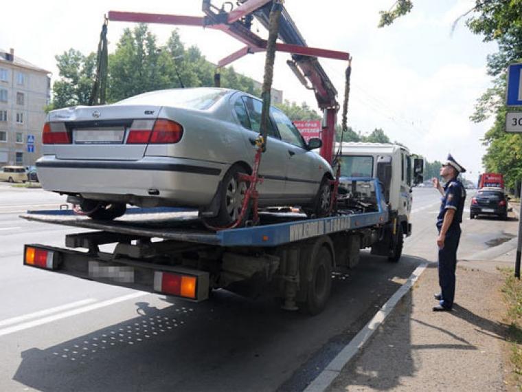 Как забрать машину со штрафстоянки в спб 2018 82