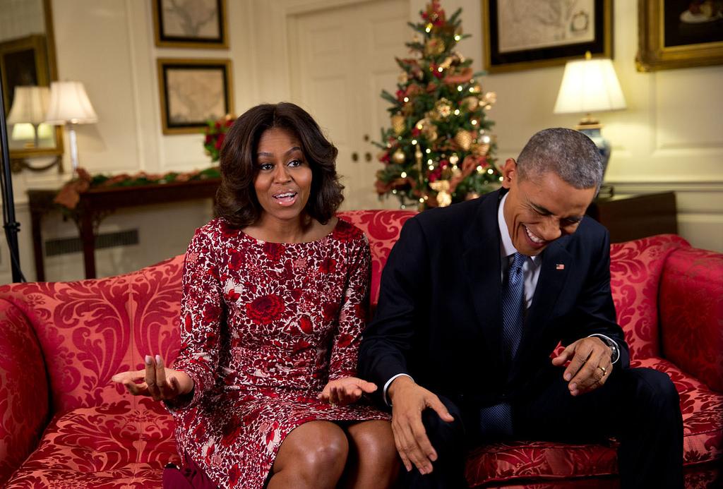 Мишель Обама открыла секрет коробочки отМелании Трамп