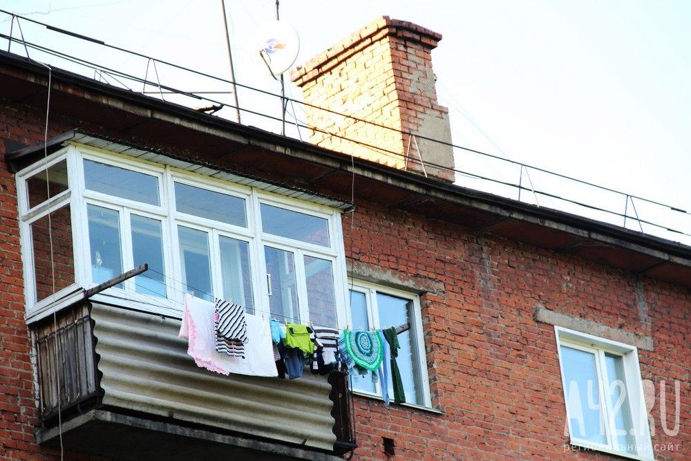 Нетрезвый гражданин Междуреченска упал сбалкона 5-ого этажа