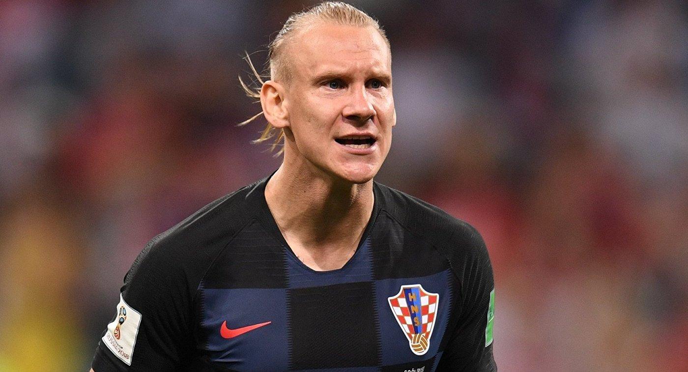 Хорватского футболиста Виду освистывают вовремя матча ½ финалаЧМ