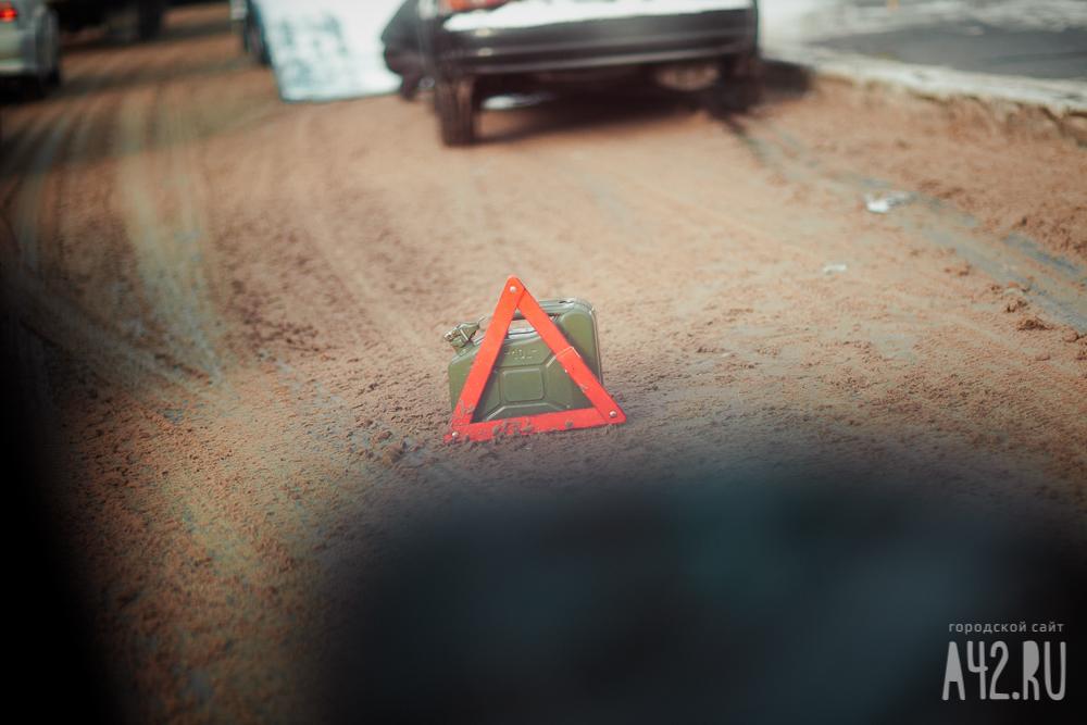 ВКузбассе встолкновении четырёх авто пострадал один человек