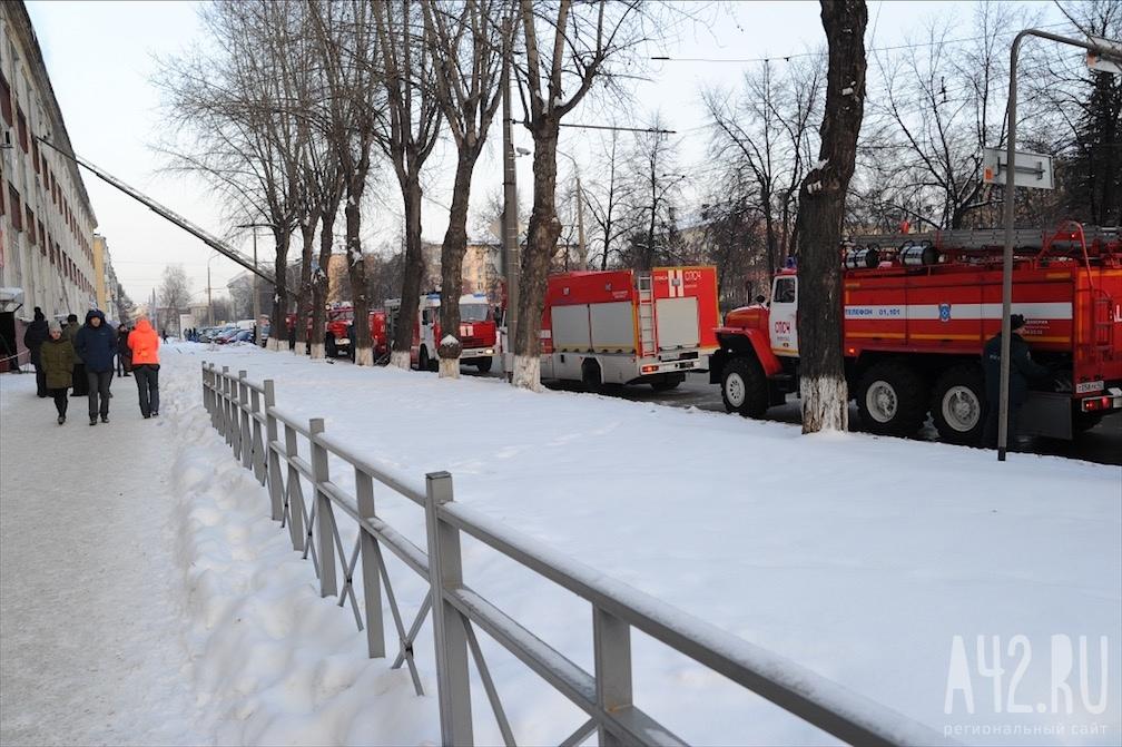 Деловой центр зажегся вКемерове: изздания эвакуировали людей