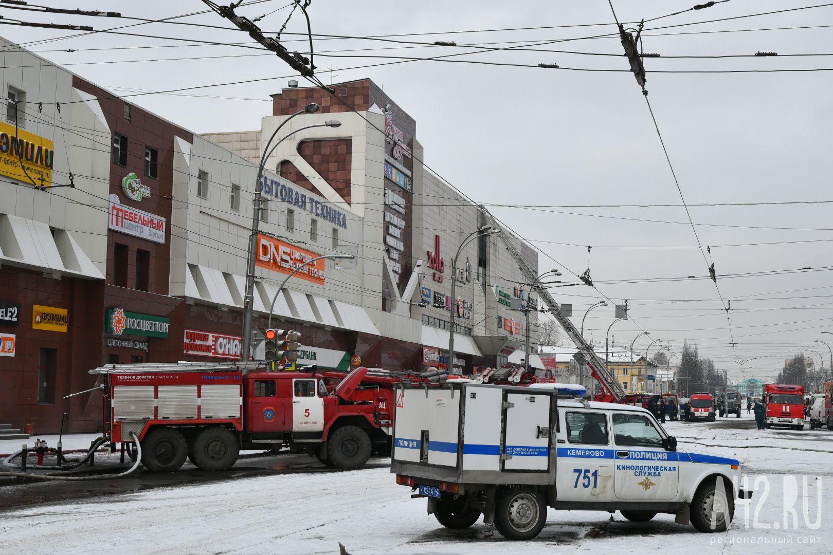 СК: пожарные угрожают потерпевшим поделу «Зимней вишни»