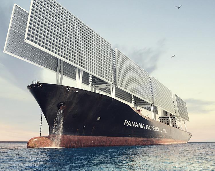 Архитекторы спроектировали тюремный корабль встиле «Игры престолов»