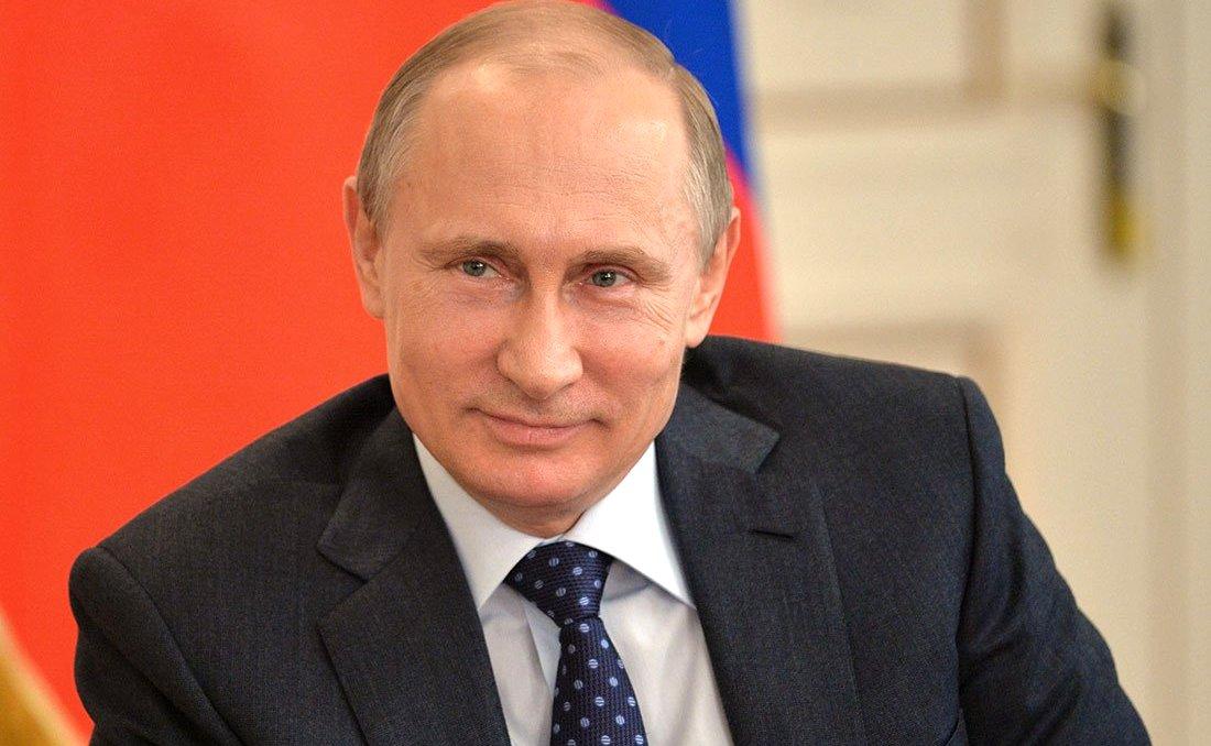 Владимир Путин посетил Кремлевскую елку