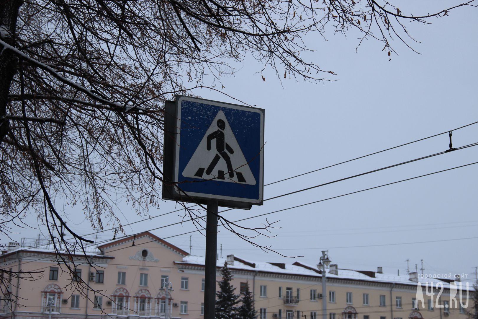 ВКузбассе иностранная машина сбила девочку напешеходном переходе