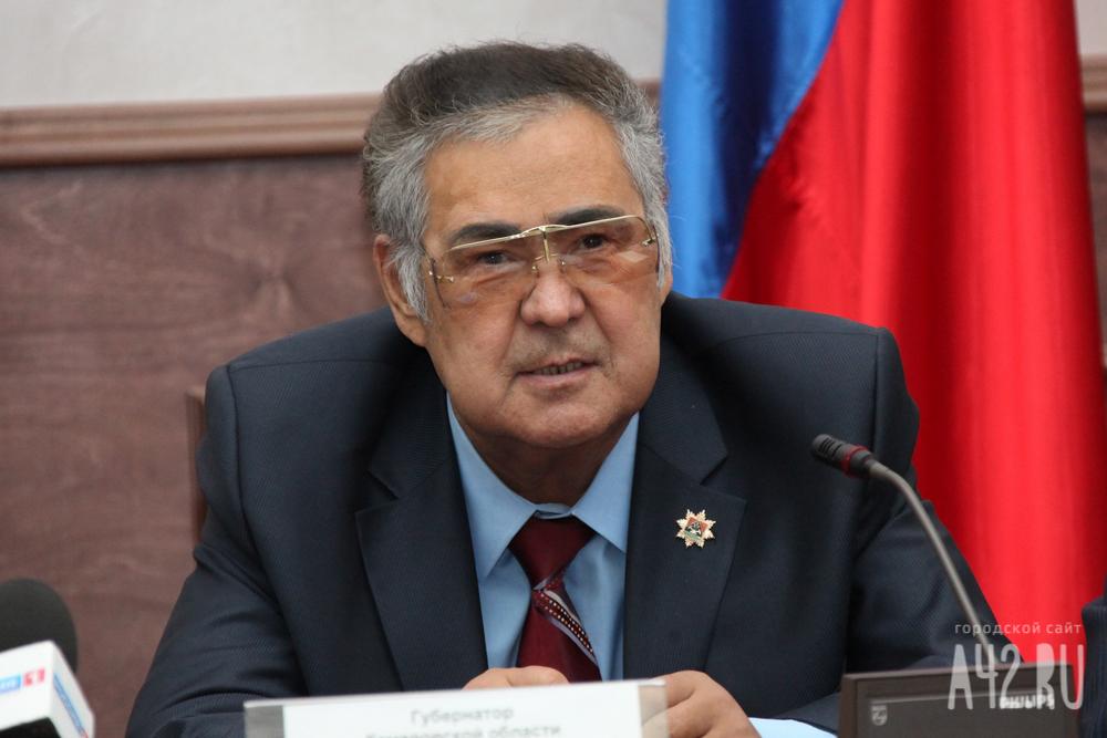 Тулеев объявил , что страну должен возглавлять самый влиятельный  вмире президент— Путин