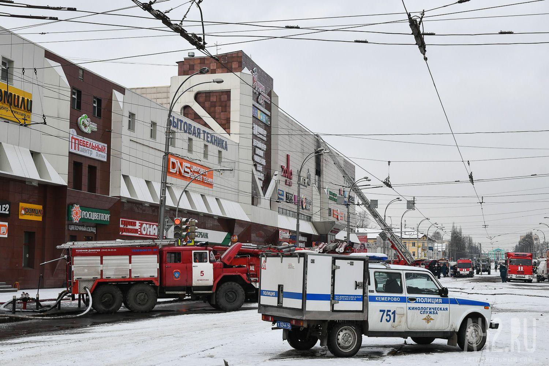 Движение городского автомобильного транспорта уТРЦ «Зимняя вишня» возобновлено