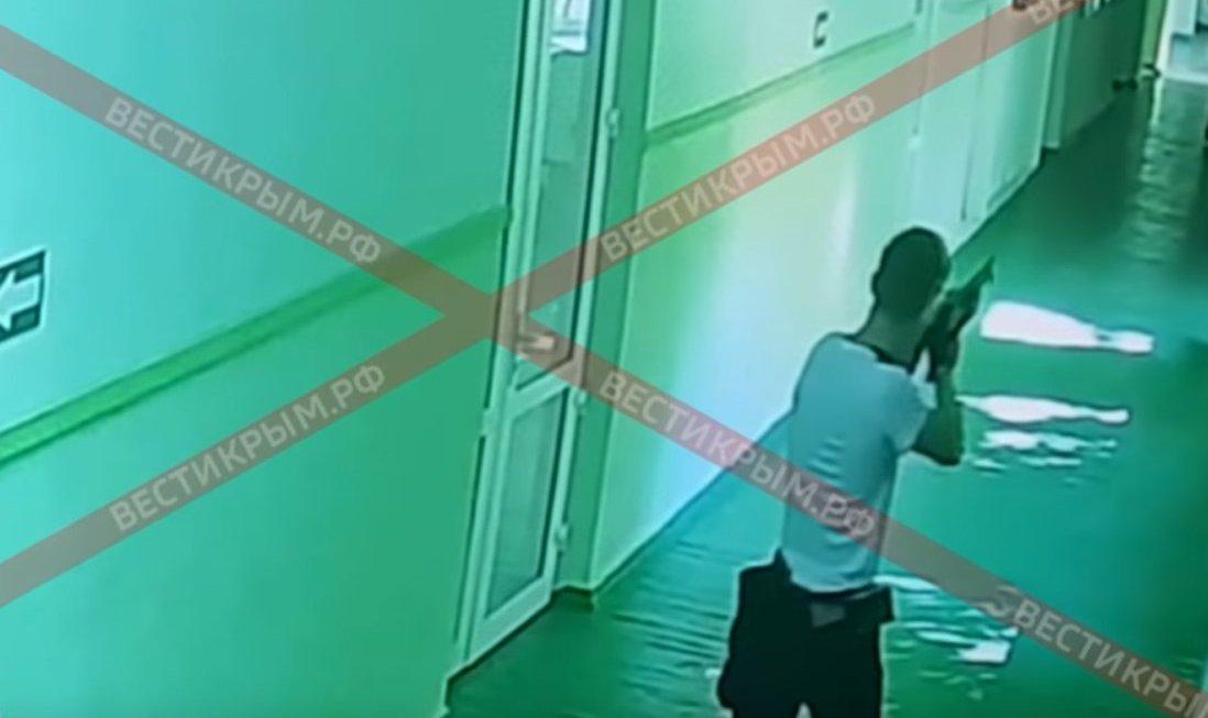 Image result for Опубликованы видео с камер наблюдения в политехе Керчи