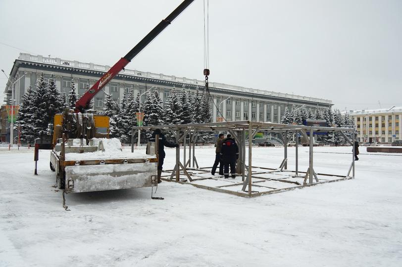Новогоднюю ель вышиной  неменее  20 метров установят вКемерово