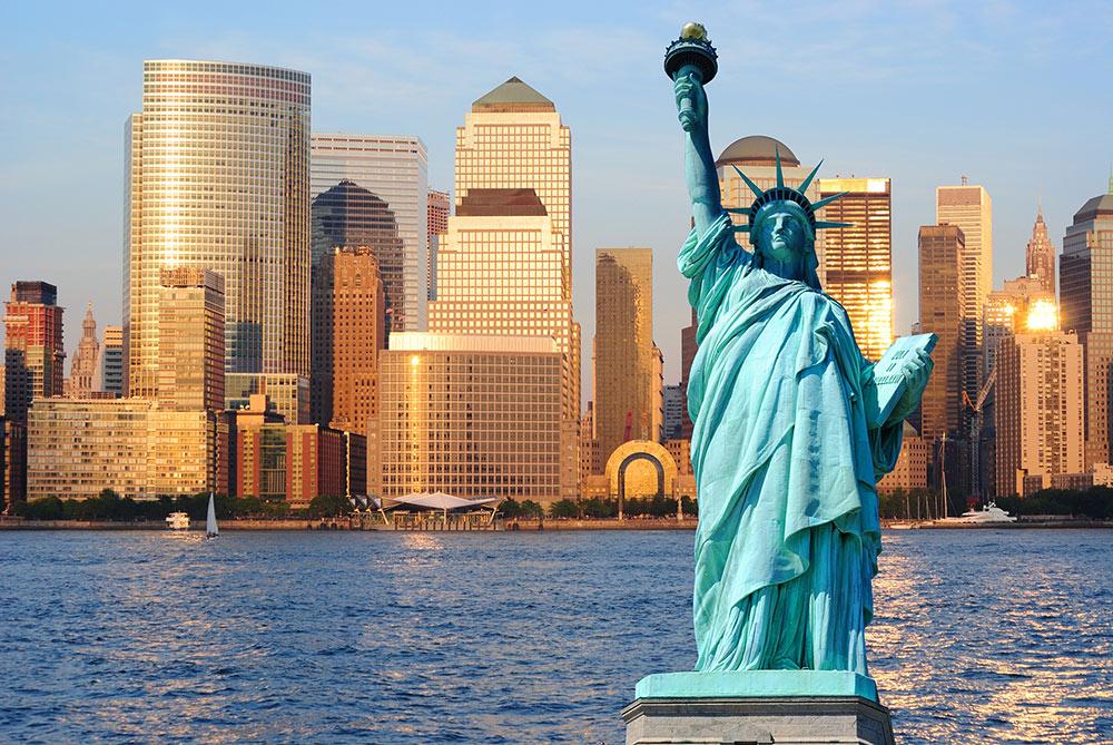 статуя свободы фото сша
