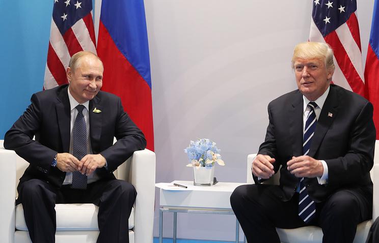 Первая официальная встреча глав Российской Федерации иСША закончилась