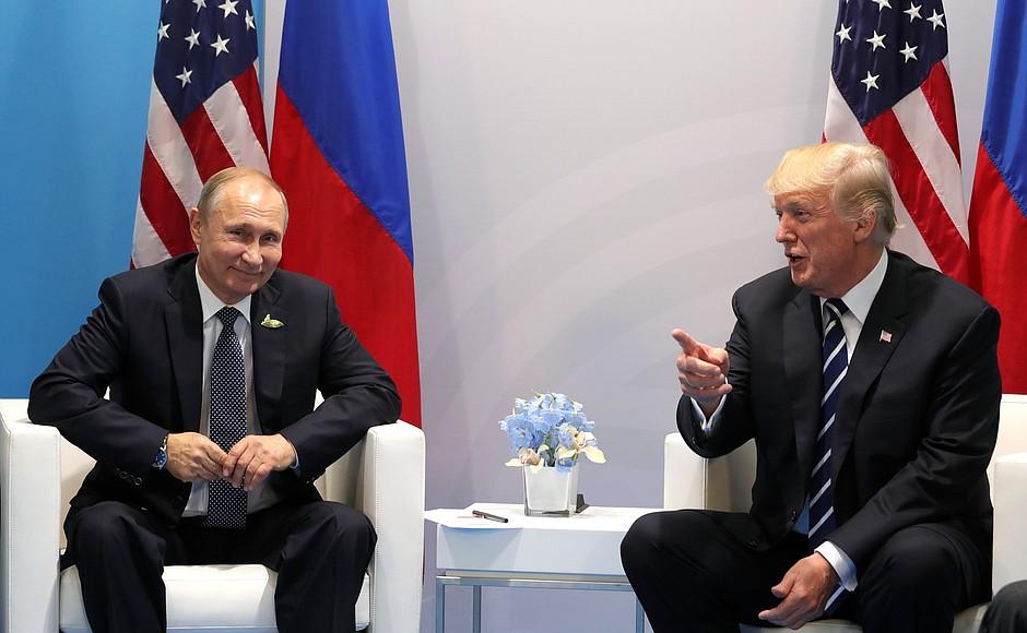 Трамп поблагодарил РФ  завысылку американских дипломатов