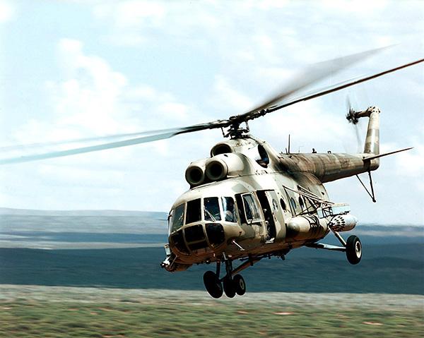 Обломки русского Ми-8 отыскали надне моря уШпицбергена