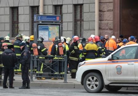 Поисково-спасательные работы вметро Петербурга окончены