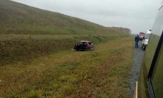 Всерьёзном ДТП накузбасской трассе пострадали две женщины имладенец
